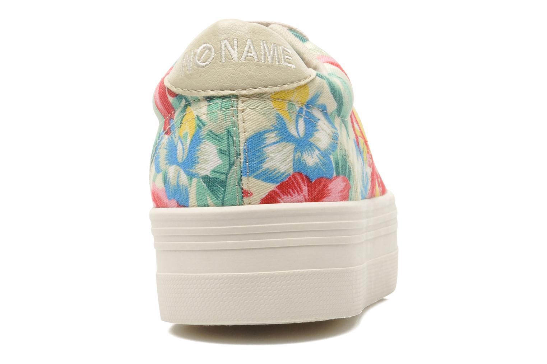 Baskets No Name Plato Sneaker Tropics Multicolore vue droite