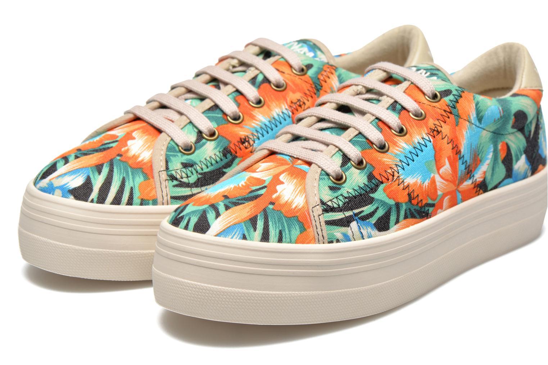 Baskets No Name Plato Sneaker Tropics Multicolore vue 3/4