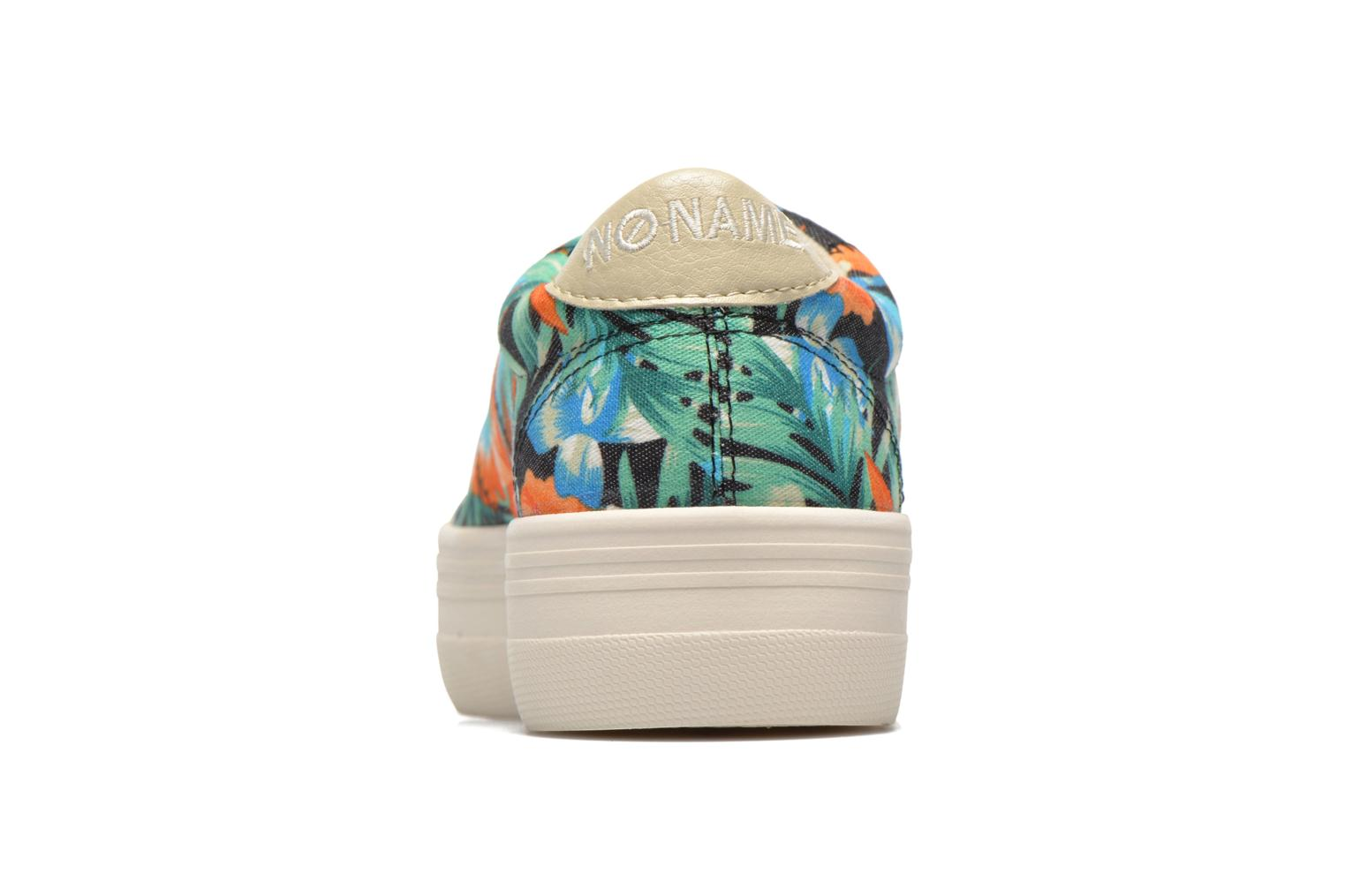 Trainers No Name Plato Sneaker Tropics Multicolor view from the right