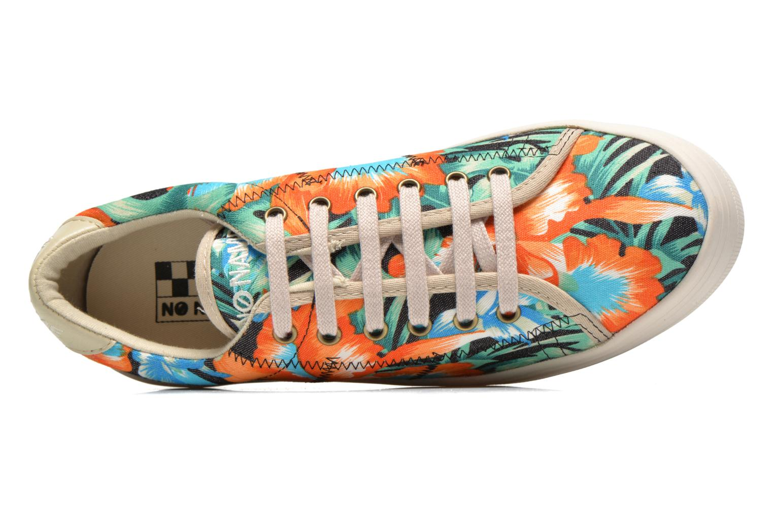Trainers No Name Plato Sneaker Tropics Multicolor view from the left
