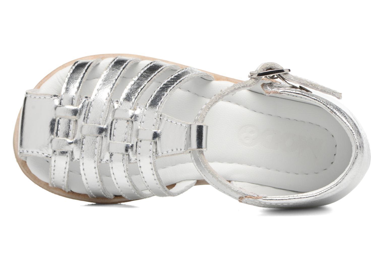 Sandali e scarpe aperte Mod8 Arcade Argento immagine sinistra