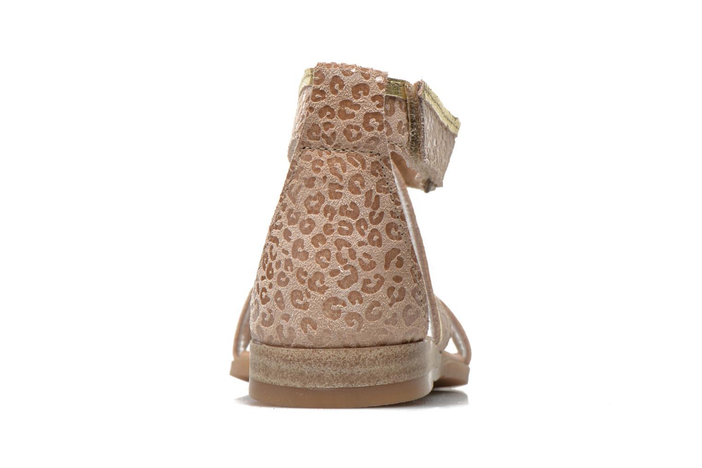 Sandali e scarpe aperte Mod8 Joyce Beige immagine destra