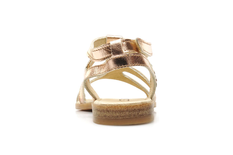 Sandales et nu-pieds Mod8 JADE Rose vue droite