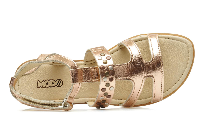 Sandales et nu-pieds Mod8 JADE Rose vue gauche