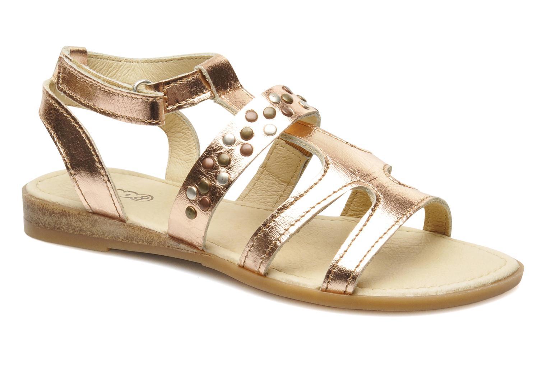 Sandales et nu-pieds Mod8 JADE Rose vue détail/paire