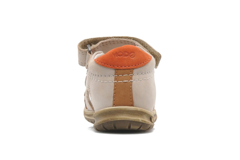 Sandales et nu-pieds Mod8 IDRIS Beige vue droite