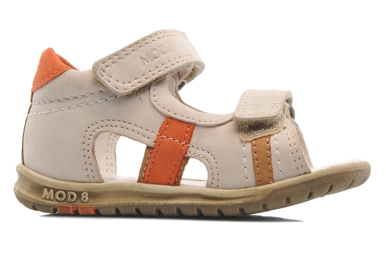 Sandales et nu-pieds Mod8 IDRIS Beige vue derrière