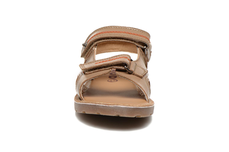 Sandales et nu-pieds Mod8 RONALDO Beige vue portées chaussures
