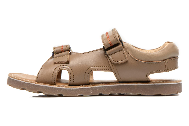 Sandales et nu-pieds Mod8 RONALDO Beige vue face