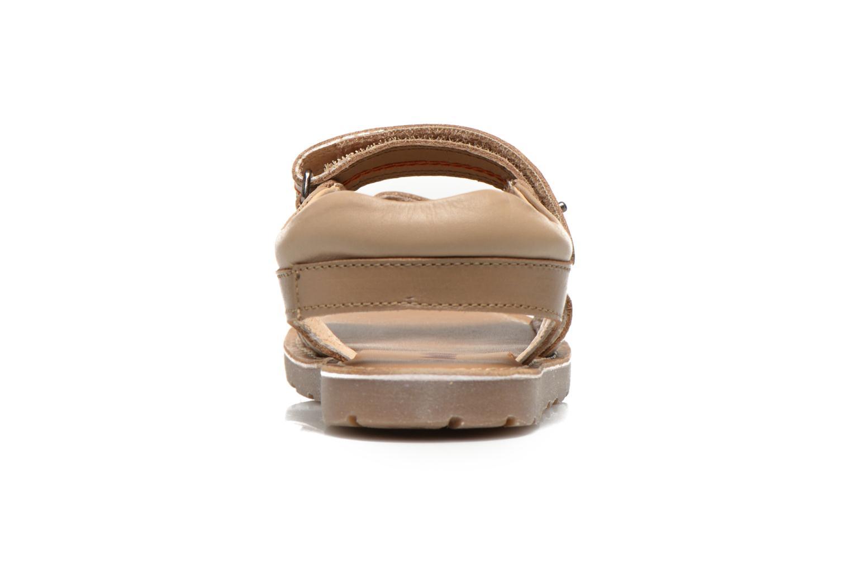 Sandales et nu-pieds Mod8 RONALDO Beige vue droite