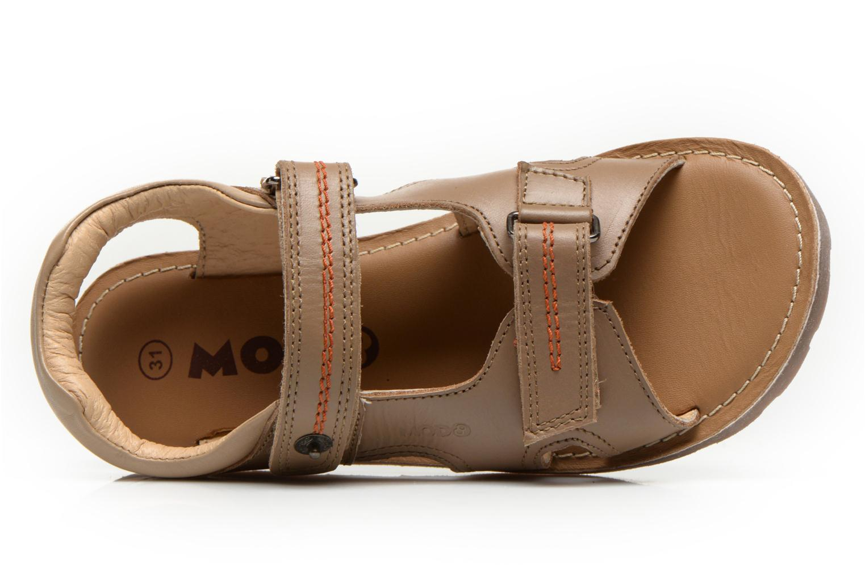 Sandales et nu-pieds Mod8 RONALDO Beige vue gauche