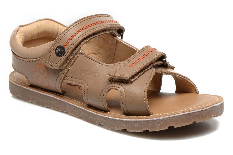 Sandales et nu-pieds Mod8 RONALDO Beige vue détail/paire