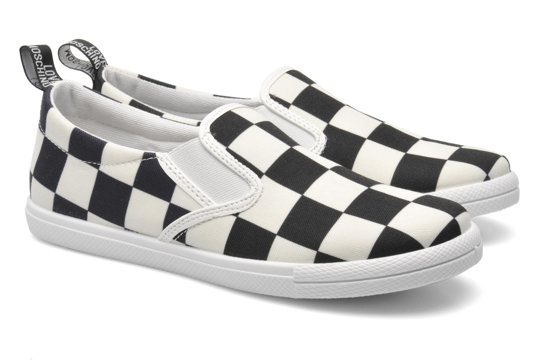 Sneaker Love Moschino Check mehrfarbig 3 von 4 ansichten