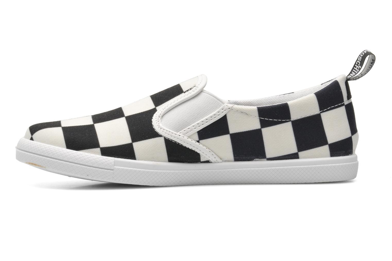 Sneaker Love Moschino Check mehrfarbig ansicht von vorne