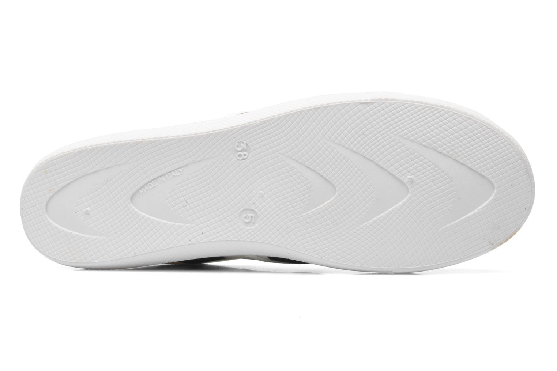 Sneaker Love Moschino Check mehrfarbig ansicht von oben