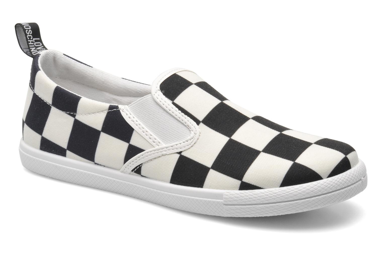 Sneaker Love Moschino Check mehrfarbig detaillierte ansicht/modell