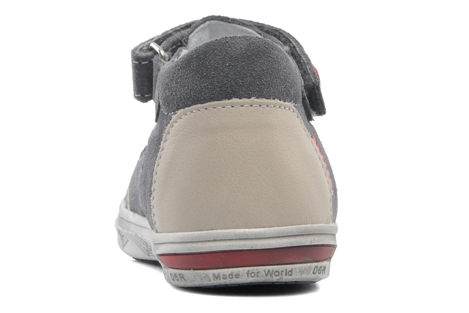 Summer boots Bopy BARANE Grey view from the right