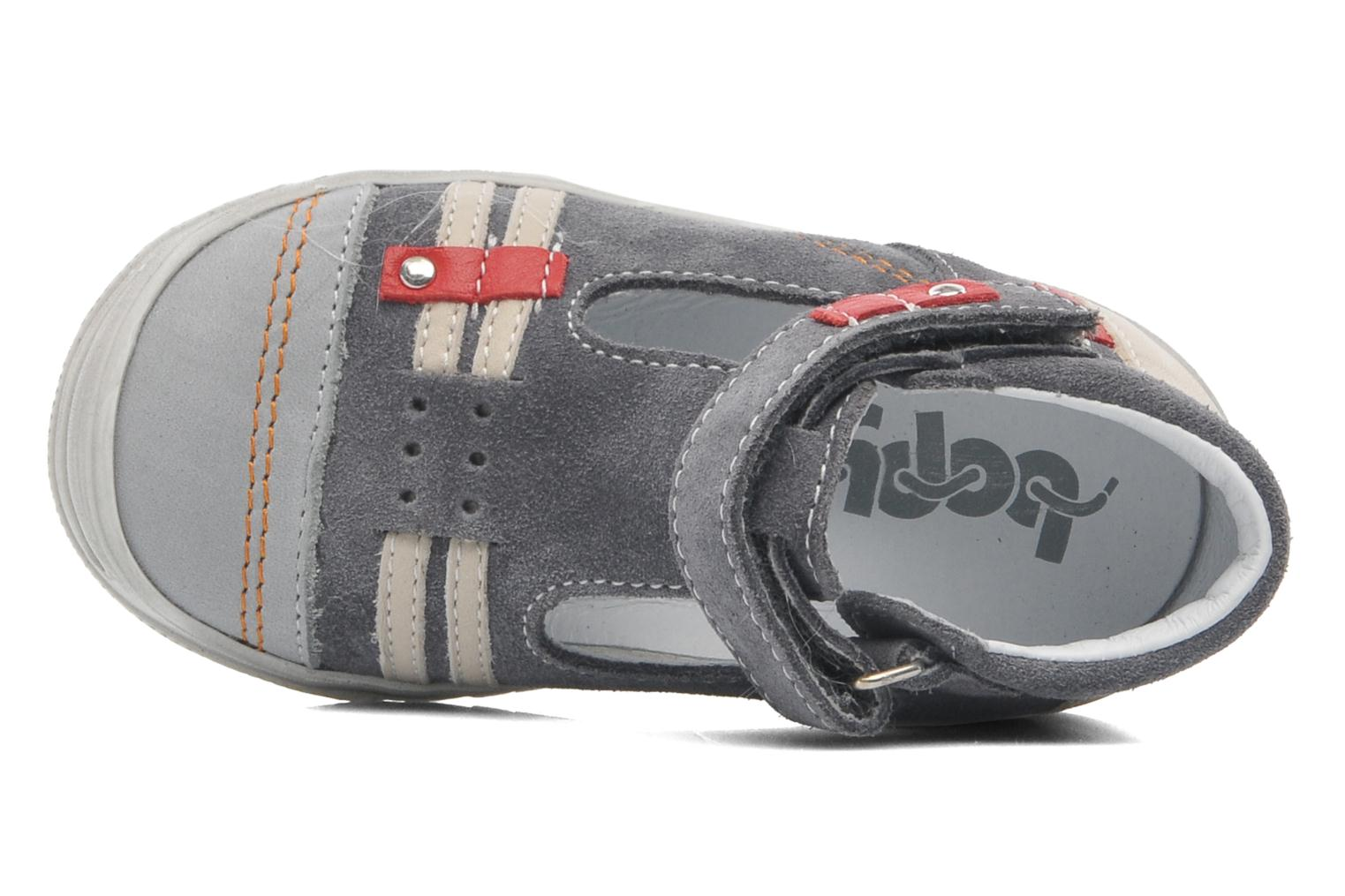 Summer boots Bopy BARANE Grey view from the left