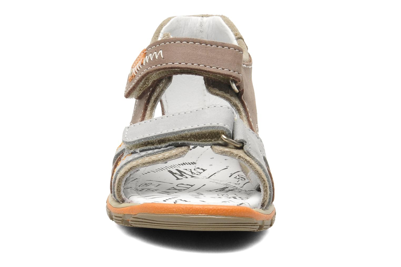 Sandales et nu-pieds Bopy BEBOLT Marron vue portées chaussures