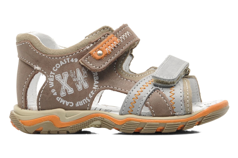 Sandalen Bopy BEBOLT braun ansicht von hinten