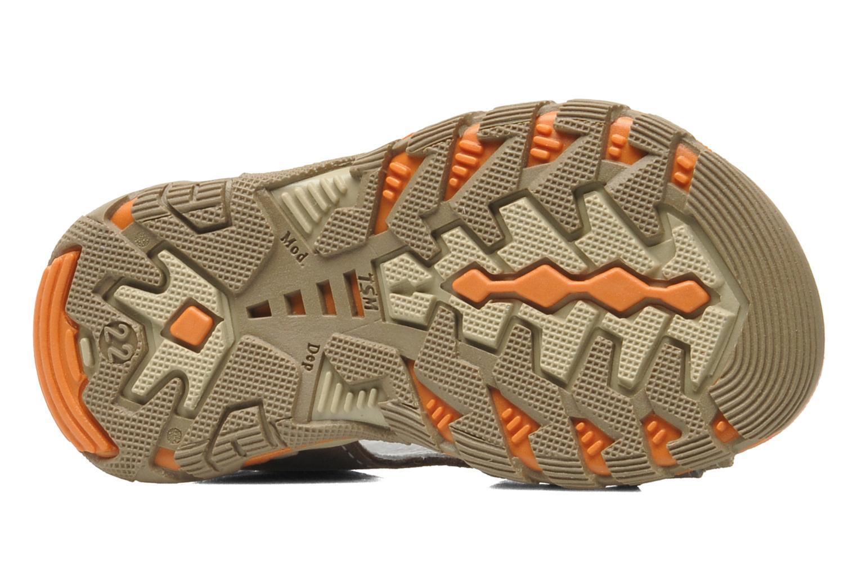 Sandalen Bopy BEBOLT braun ansicht von oben