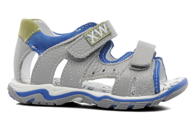Sandales et nu-pieds Bopy BEPANY Gris vue derrière