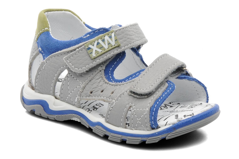 Sandales et nu-pieds Bopy BEPANY Gris vue détail/paire