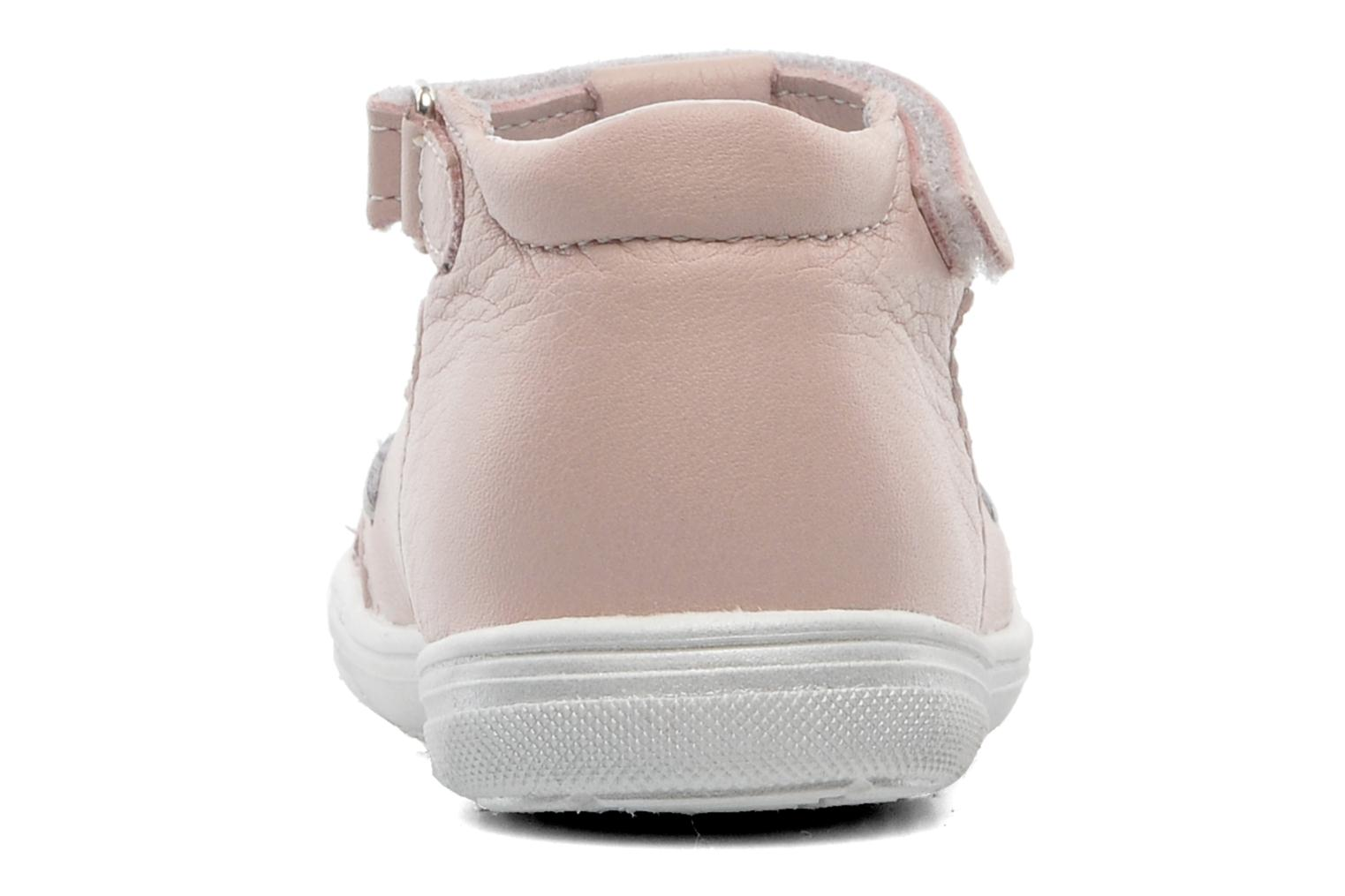 Summer boots Bopy BOREVOIR Pink view from the right