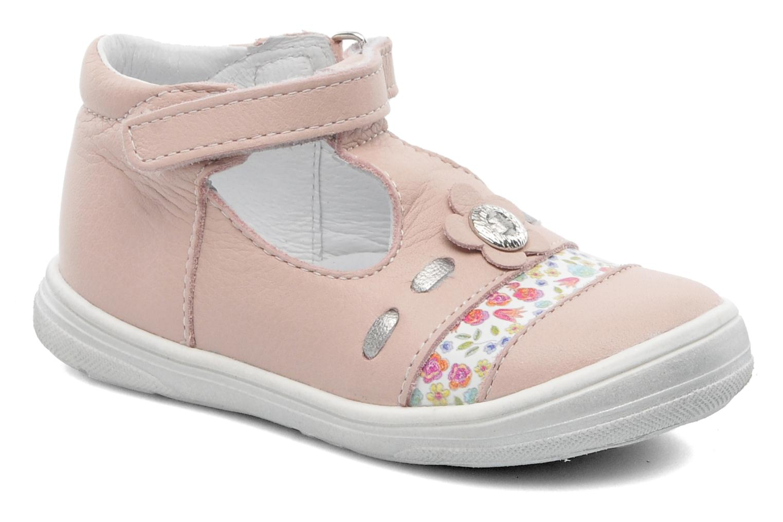 Summer boots Bopy BOREVOIR Pink detailed view/ Pair view
