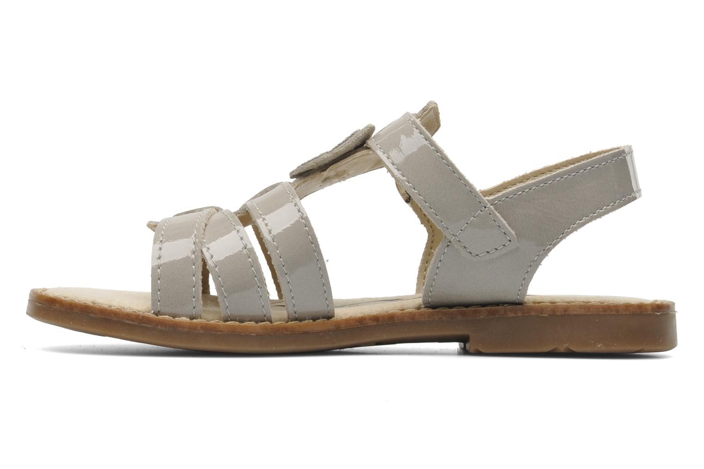 Sandales et nu-pieds Bopy ELOISE Gris vue face