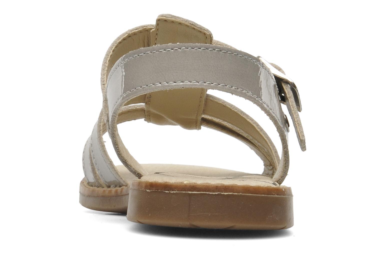 Sandales et nu-pieds Bopy ELOISE Gris vue droite