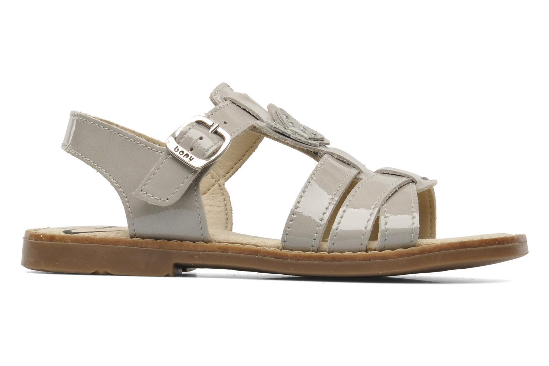Sandales et nu-pieds Bopy ELOISE Gris vue derrière