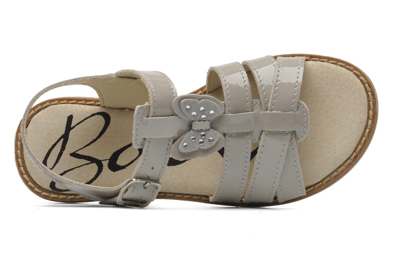 Sandales et nu-pieds Bopy ELOISE Gris vue gauche