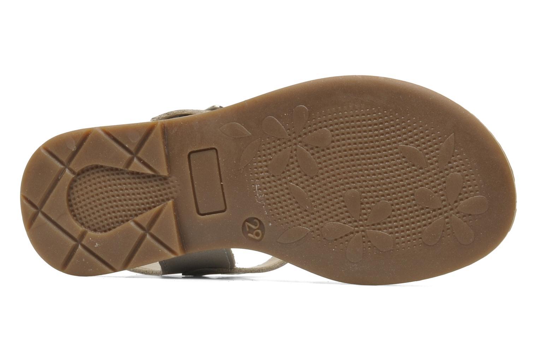 Sandales et nu-pieds Bopy ELOISE Gris vue haut