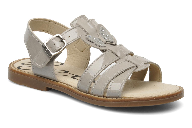 Sandales et nu-pieds Bopy ELOISE Gris vue détail/paire