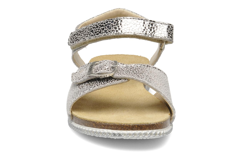 Sandali e scarpe aperte Bopy ESPALA Argento modello indossato