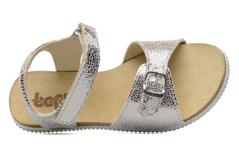 Sandali e scarpe aperte Bopy ESPALA Argento immagine sinistra