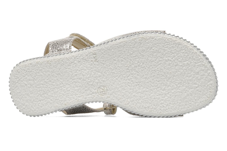 Sandales et nu-pieds Bopy ESPALA Argent vue haut