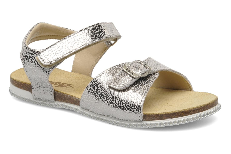 Sandales et nu-pieds Bopy ESPALA Argent vue détail/paire