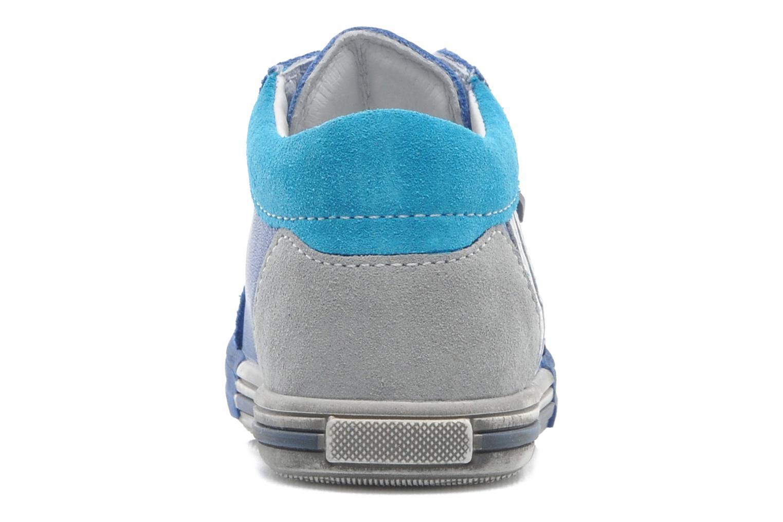 Baskets Bopy ZITONADE Bleu vue droite