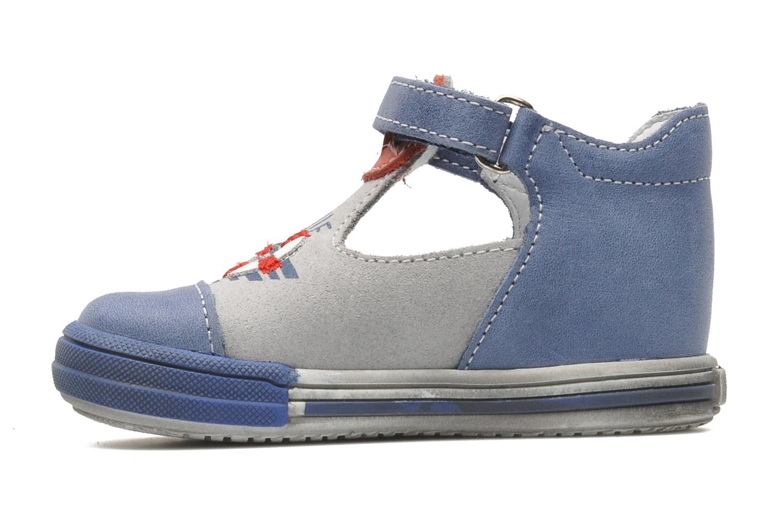 Bottines et boots Bopy ZLOUF Bleu vue face