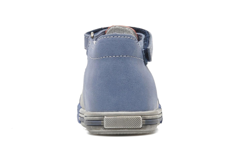 Bottines et boots Bopy ZLOUF Bleu vue droite