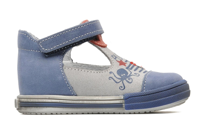 Bottines et boots Bopy ZLOUF Bleu vue derrière