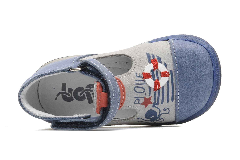 Bottines et boots Bopy ZLOUF Bleu vue gauche