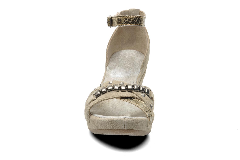 Sandales et nu-pieds Khrio Lou N Gris vue portées chaussures