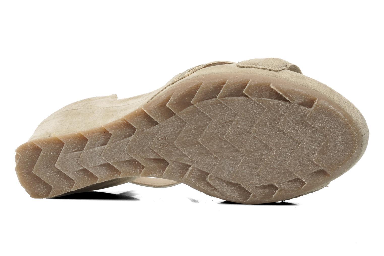 Sandales et nu-pieds Khrio Lou N Gris vue haut
