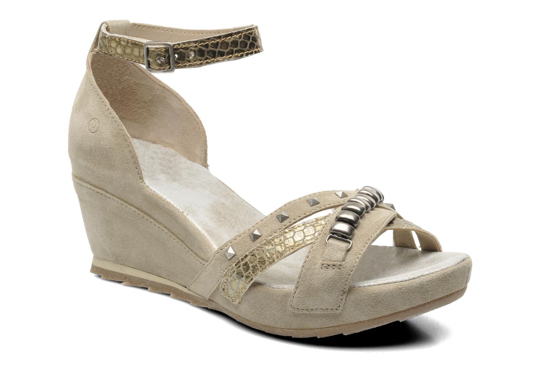 Sandales et nu-pieds Khrio Lou N Gris vue détail/paire