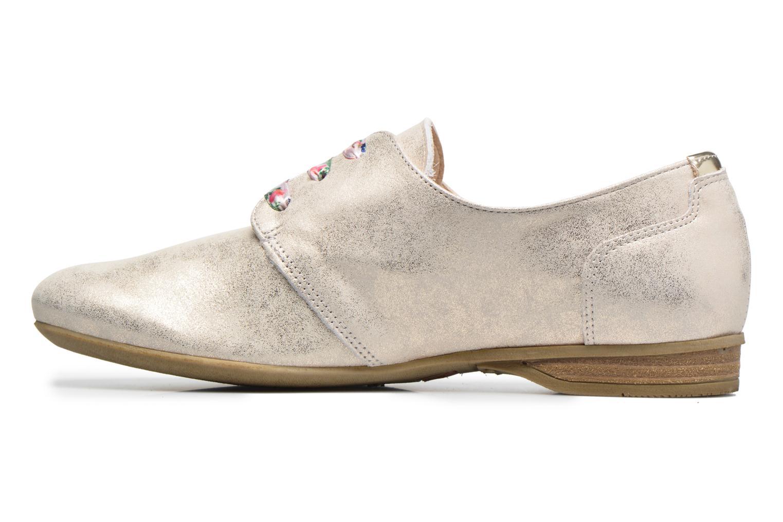Zapatos con cordones Dorking Candy 5058 Plateado vista de frente