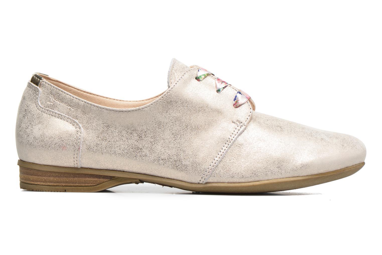 Zapatos con cordones Dorking Candy 5058 Plateado vistra trasera