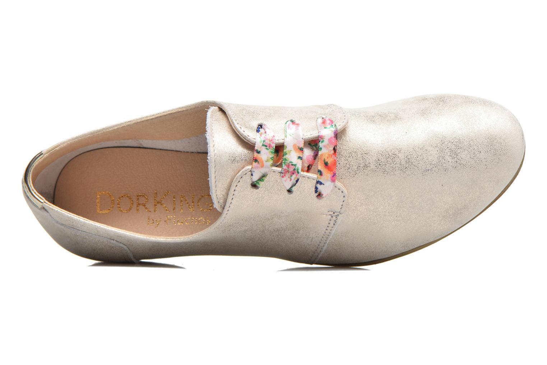 Zapatos con cordones Dorking Candy 5058 Plateado vista lateral izquierda